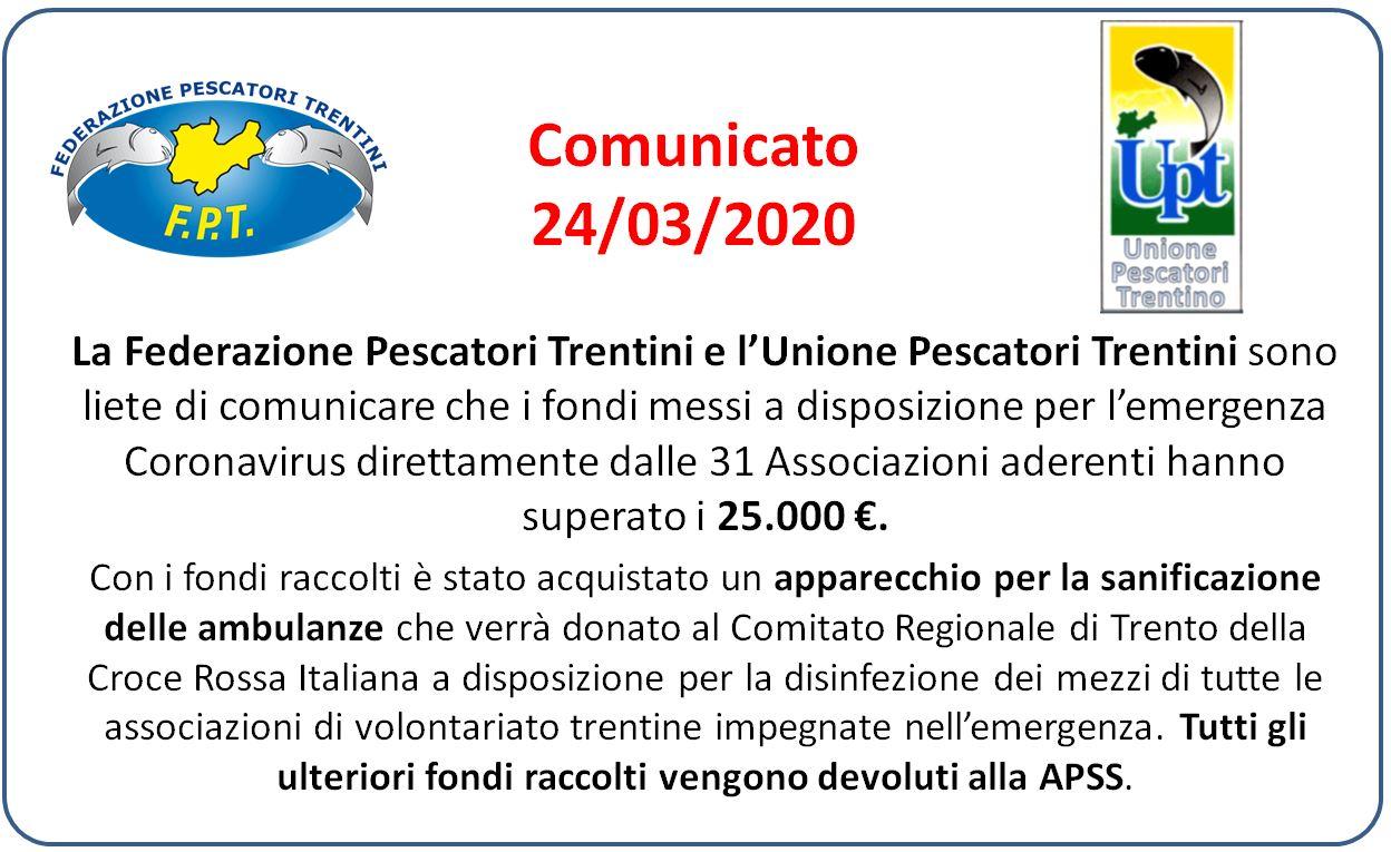 Comunicato 24-03-2020